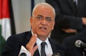 عريقات يندد بدعوة إسرائيل تغيير النظام في فلسطين
