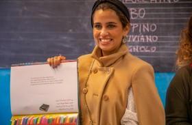 «الإماراتي لكتب اليافعين» ينظم جلسات قرائية وورش عمل فنية لأطفال تورينو