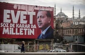 اردوغان يتهم الأوروبيين بالنازية رداً على وصفه بالدكتاتور