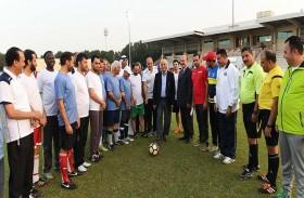 انطلاق بطولة كأس مدير جامعة الشارقة لثمانيات كرة القدم
