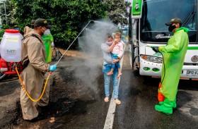 مئات المهاجرين الفنزويليين في كولومبيا يعودون