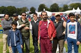 محمد بن راشد يشهد إنجازات فرسان الامارات في اوستن بارك بإنجلترا