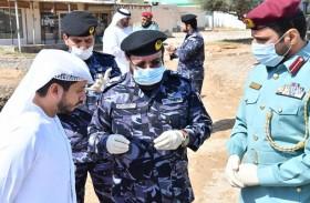 شرطة رأس الخيمة  تحصر أضرار الأمطار في الفحلين والحيل