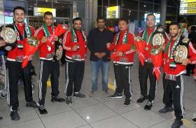 منتخب الإمارات يتألق في بطولة النخبة للمواي تاي