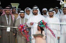 محمد بن سعود القاسمي يفتتح فعاليات مهرجان ضواحي 6