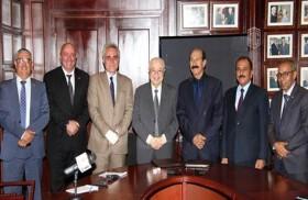 اتفاق تعاون بين «أبوغزالة» و«مؤسسة المتقاعدين العسكريين والمحاربين القدماء»