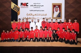 محمد بن حمد الشرقي يكرم أصحاب الإنجازات الرياضية