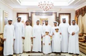 حمدان بن زايد يزور المواطن أحمد محمد الرميثي