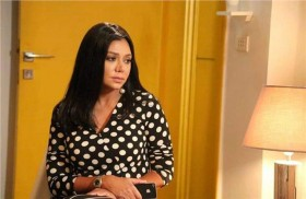 رانيا يوسف طبيبة نفسية  في «شارع 9»