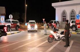 40 دورية مرورية تحقق انسيابية حركة رأس الخيمة في شهر الصيام