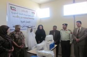 سفير الدولة لدى الأردن يفتتح مركزي تدريب للخياطة في الطفيلة ومعان