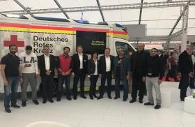 وفد من إسعاف دبي يطلع على خدمات الإسعاف المستقبلية في ألمانيا