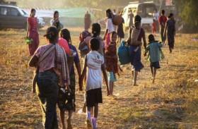 متمردون يخطفون 31 شخصاً في غرب بورما