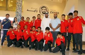 منتخب المواي تاي يصل بانكوك للمشاركة في بطولة العالم لفئتي الشباب والناشئين