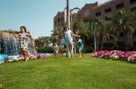 المخيم الصيفي للأطفال في قصر الإمارات  يتضمن أنشطة رياضية وثقافية وترفيهية