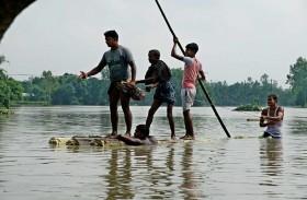 مئات القتلى بفيضانات في النيبال والهند وبنغلادش