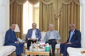 سفير الدولة يلتقي أعضاء لجنة الأخوة الأردنية الإماراتية بمجلس الأعيان