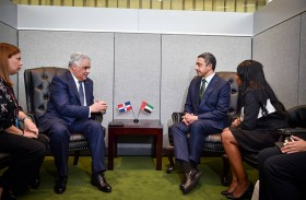 عبدالله بن زايد يلتقي عددا من وزراء الخارجية ومساعد الأمين العام للأمم المتحدة