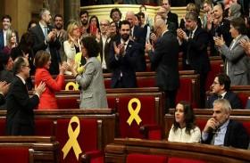 المشرعون الكاتالونيون ينتخبون انفصاليا رئيسا للبرلمان