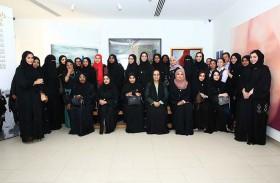 دبي لرعاية النساء والأطفال تحتفل باليوم الدولي للمرأة بزيارة متحف المرأة في دبي