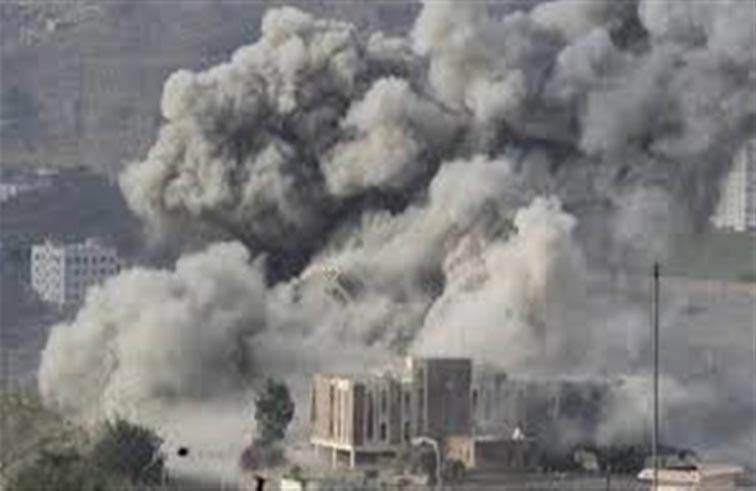 التحالف يقصف مواقع لصالح والحوثيين بصنعاء