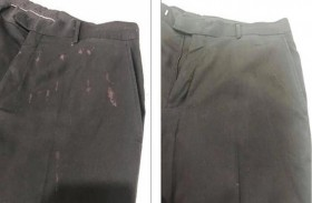 إزالة البقع عن الملابس باستخدام أقلام التلوين