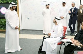 حمدان بن محمد يدشن منصة إم آي تي تكنولوجي ريفيو العربية