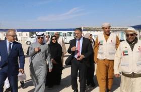سفارة الدولة في الأردن تشرف على توزيع ألف حقيبة ذكية على اللاجئين السوريين