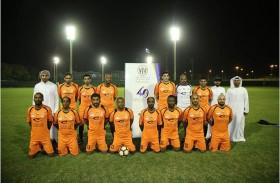 فوز فريق مركز شباب عجمان على نظيره حتا بثلاثة أهداف مقابل هدف