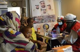 حملة الشيخة فاطمة الانسانية تدشن العيادات المتنقلة والمستشفى الميداني للمرأة والطفل في السودان