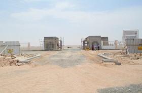 بلدية منطقة الظفرة تنفذ مشروع تطوير وإعادة تأهيل مقابر مدينة السلع