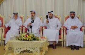 في أولى برامج خيمة المحيان الرمضانية محاضرة لفضيلة الدكتور محمد بن هاشل الطنيجي بعنوان التسامح في رمضان