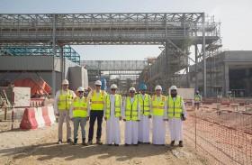 كهرباء دبي تنجز 70 بالمائة من توسعة المحطة