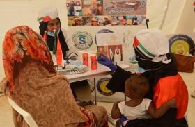 «حملة الشيخة فاطمة الإنسانية» تختتم مهامها التطوعية بولاية نهر النيل السودانية