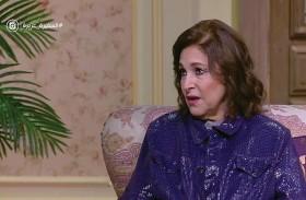 نادية رشاد سعيدة بنجاح مسلسل (الطوفان)