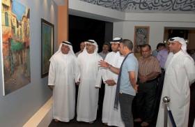 الثقافة تفتتح معرض أبواب ونوافذ للفنان أمجد هاني