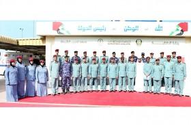 123 منتسبا لشرطة رأس الخيمة يكملون «5» دورات تدريبية