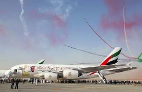 «طيران الإمارات» يستقطب 27 ألف زائر خلال معرض دبي للطيران