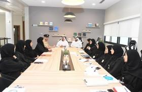 شرطة دبي تُطلع وفدا من المحاكم على منظومتها لاستشراف المستقبل