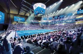 50 يومًا على انطلاق بطولة العالم للسباحة في أبوظبي