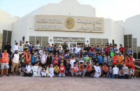افتتاح النشاط الصيفي لنادي مليحه الرياضي بحضور مصبح بالعجيد الكتبي