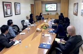 وزارة التغير المناخي والمعهد العالمي للنمو الأخضر يطلعان على تجربة بلدية دبي في اعداد استراتيجية جودة الهواء