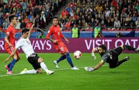 ألمانيا وتشيلي لتأهل منطقي للمربع الذهبي