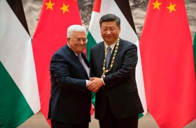 الصين تتعهد بدعم السلام في الشرق الأوسط