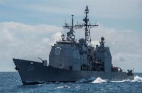 سفينة حربية أميركية تعبر مضيق تايوان