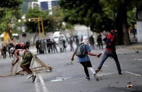 المعارضة الفنزويلية تدعو لإضراب جديد
