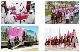 جواهر القاسمي تعتمد انطلاق مسيرة القافلة الوردية الثامنة في 28 فبراير المقبل