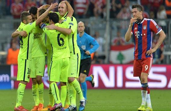 برشلونة في نهائي دوري أبطال أوروبا