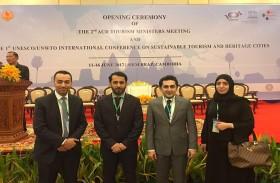 المهيري: الاجتماع منصة مهمة لتعزيز التعاون بين دول المنطقة لاستدامة السياحة والتراث