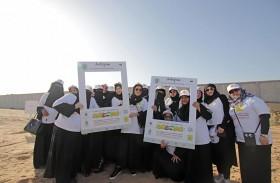 «نظفوا الإمارات» تجمع طن نفايات من عجمان بمشاركة 350 متطوعاً